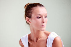 Tanned beauty Stock Images
