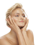 Tanned Beauty Royalty Free Stock Photography