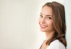 Tanned brunette beauty. Stock Photo