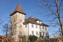 Tannenfels城堡 库存照片