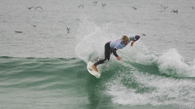 Tanner Gudauskas (USA) in ASP World Qualifier Royalty Free Stock Photos