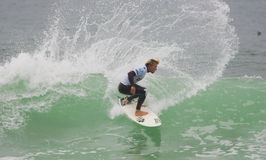 Tanner Gudauskas (USA) in ASP World Qualifier Stock Image
