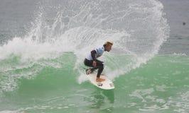 Tanner Gudauskas (USA) in ASP World Qualifier Stock Image