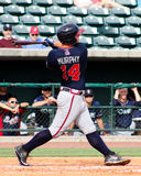 Tanner Murphy, Rome Braves. Royalty Free Stock Photography