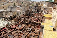 tannerie Image stock