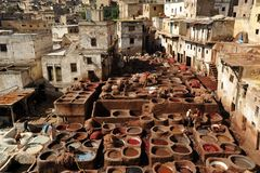 Tanneries Royalty Free Stock Photography