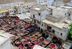Tanneries, #2 Royalty Free Stock Photography