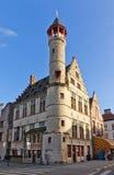 Tanners guild house Toreken (1450). Ghent, East Flanders, Belgiu Stock Image