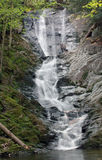 Tannery Falls. Berkshires section of western Massachusetts royalty free stock photo