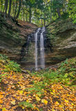 Tannery Falls Autumn Royalty Free Stock Photos