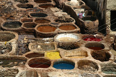 Tannery Royalty Free Stock Photo
