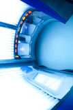 tanning bed Stock Photo