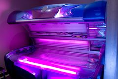 Tanning bed Royalty Free Stock Photo