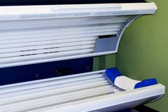 Tanning Bed Stock Images