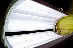 Tanning Bed Open Royalty Free Stock Images