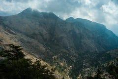 Tannourine谷,黎巴嫩。 免版税库存照片
