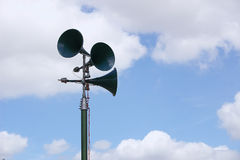 Tannoy speakers Stock Image