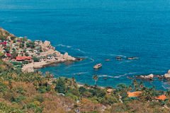 Tanot bay from viewpoint Stock Photography
