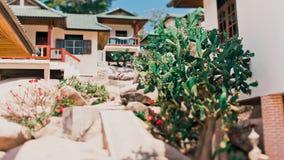 Tanot zatoki bungalowy obrazy royalty free