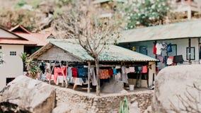 Tanot zatoki bungalowy zdjęcia royalty free