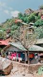 Tanot zatoki bungalowy zdjęcie royalty free