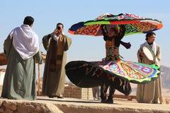 Tanoura egyptian folk dance Royalty Free Stock Photography