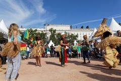 Tanowie od Gabonese na miejscu Bellecour obraz royalty free