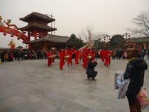 Tanowie w chińskim nowego roku roku smok zdjęcie royalty free