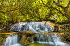 Tanpliw waterfall Thung Wa, Satun, Thailand , Soft focus Royalty Free Stock Photo