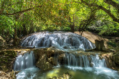 Tanpliw waterfall Thung Wa, Satun, Thailand , Soft focus Stock Photo
