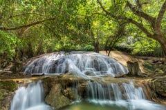 Tanpliw waterfall Thung Wa, Satun, Thailand , Soft focus Stock Photography