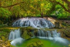 Tanpliw waterfall Thung Wa, Satun, Thailand , Soft focus Royalty Free Stock Images