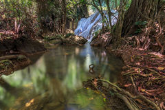 Tanpliw waterfall Thung Wa, Satun, Thailand , Soft focus Royalty Free Stock Image