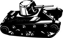 Tanque ilustração royalty free