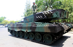 tanque Fotografía de archivo