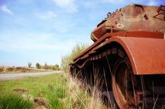 Tanque abandonado imagens de stock royalty free