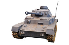 Tanque alemão desde a guerra de mundo 2 Foto de Stock