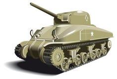 Tanque americano ilustração do vetor
