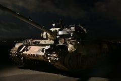 Tanque americano na noite Fotografia de Stock