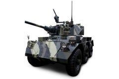 Tanque blindado militar Foto de Stock Royalty Free