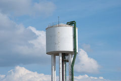 Tanque da torre Fotografia de Stock Royalty Free