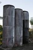 Tanque de água concreto velho Fotos de Stock Royalty Free