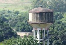Tanque de água do armazenamento Imagem de Stock