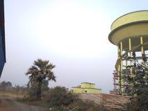 Tanque de água do papel de parede do jahanabad foto de stock