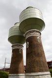 Tanque de água renovado histórico imagens de stock royalty free