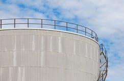 Tanque de óleo Imagem de Stock