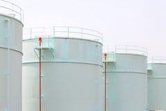 Tanque de óleo Foto de Stock