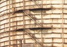 Tanque de óleo Fotografia de Stock