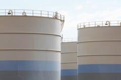 Tanque de óleo Imagens de Stock