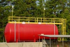 Tanque de armazenamento industrial Fotos de Stock Royalty Free